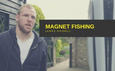Magnet Fishing: England Rugby player has a new hobby