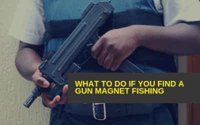 What to do if you find a gun Magnet Fishing