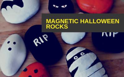 Halloween Crafts – Spooky Magnetic Rocks