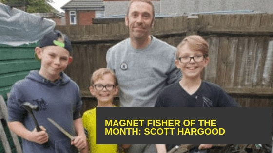 Magnet Fisher of the Month – Scott Hargood